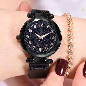 Luminous Women Watches Starry Sky Magnetic Female - SuRegaloExpress