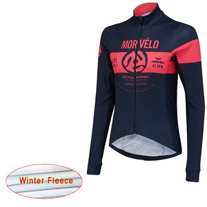 2019 Pro Team Morvelo Bike Clothing winter thermal fleece woman Cycling jerseys MTB maillot Ropa Ciclismo Bicycle Clothes mujer - SuRegaloExpress