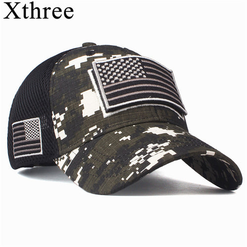 Baseball Cap For Men Usa flag cap Camouflage - SuRegaloExpress