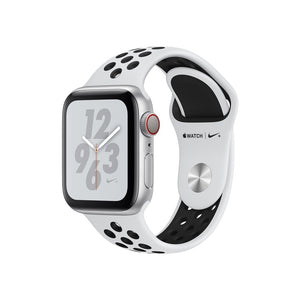 Apple Watch Nike+ Series 4, OLED, Touchscreen, GPS (satellite), Cellular, 30.1 g, Silver - SuRegaloExpress
