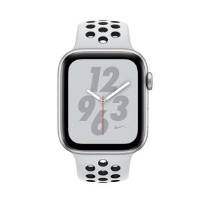 Apple Watch Nike + Series 4, OLED, Touchscreen, GPS (satellite), 18 h, 30.1 g, Silver - SuRegaloExpress
