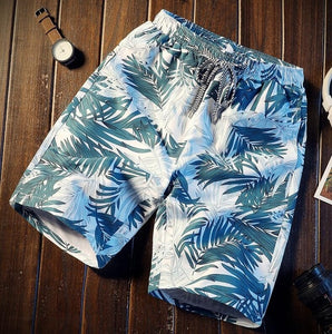 Shorts Men 2019 Summer Bermuda Shorts Fashion Loose Men'S Printed Shorts Brand New Beach Comfortable Quick Dry Short Male 4XL