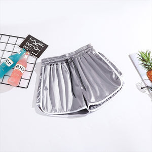 2019 Women Shorts Summer Oversize S-5X Slim Beach High Waist Casual Loose Egde Short Korean Soft Sportwear Shorts Feminino - SuRegaloExpress