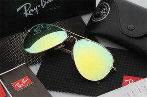 Classic 2019 RayBan RB3025 Aviator Men Sunglasses Classic Polarized Sunglasses Men Women Driving Pilot Sunglasses RB3025 - SuRegaloExpress