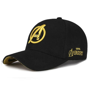 Unisex  Caps Marvel Avengers LOGO Embroidery Casual Outdoor Baseball