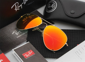 Classic Sun Glasses Rayban 3025 Sunglasses Aviator UV400 Protection Male Sun Glasses Eyeglasses Rayban RB3025 - SuRegaloExpress