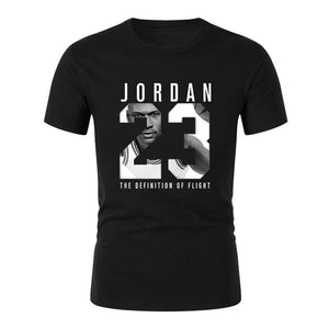 High-quality new products listed Jordan 23 men's T-shirt 2018 fashion printing casual digital - SuRegaloExpress