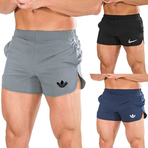 2019 Summer Beach shorts Mens Fitness Bodybuilding Breathable Quick Drying Short Gyms Men Casual Joggers Shorts M-3XL - SuRegaloExpress