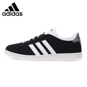 Original Authentic Adidas NEO Label Flat Low Top Men's Skateboarding Shoes Low Top Sneakers Anti-Slippery Hard-Wearing Leisure