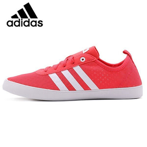 Original Official Adidas NEO Label QT VULC 2.0 Women's Skateboarding Shoes Sneakers Lightweight Non-slip Breathable Leisure