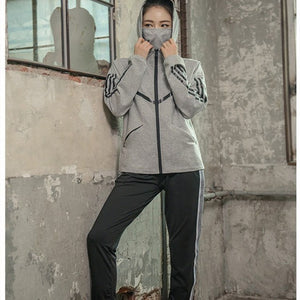 2018 New Woman Yoga Sets Sportswear Running Gym Fitness Sport Suit Women Tracksuit Autumn Winter Female 2 Piece Sets - SuRegaloExpress