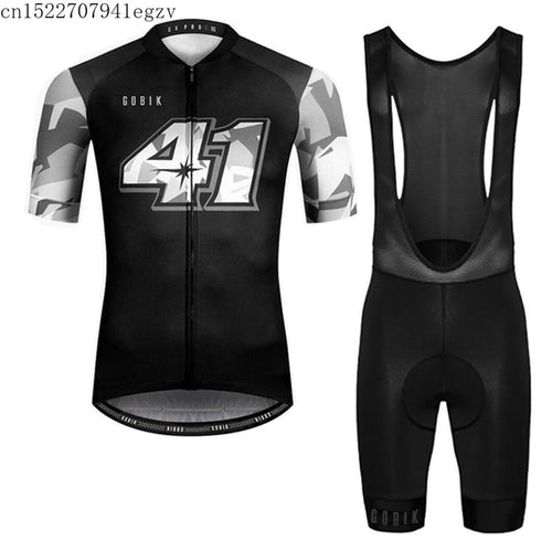 GOBIK Summer Cycling jersey Short Sleeve Mountain Racing Bike Quick dry Cycling Clothing Set Ropa Ciclismo Hombre Bicicleta C31 - SuRegaloExpress