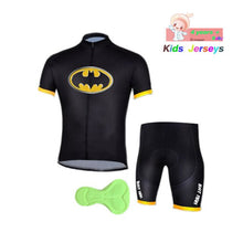 Cargar imagen en el visor de la galería, Kids Spider Man Cycling Jersey Wear Short Sleeves Cycling Set Boys Bike Clothing Ropa Ciclismo Girl Cycling Clothing Sports Suit - SuRegaloExpress