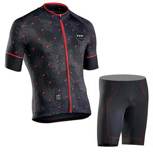 NW Cycling Jersey Pro Bike Wear Summer Men Quick Dry short sleeve Cycling Bicycle sportswear Maillot Ropa Ciclismo Hombre C22