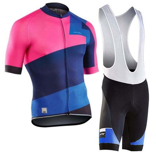 NW 2019 short sleeve cycling jersey Pro team bicycle Mountain summer Quick dry Cycling Clothing Maillot Ropa Ciclismo Hombre C22