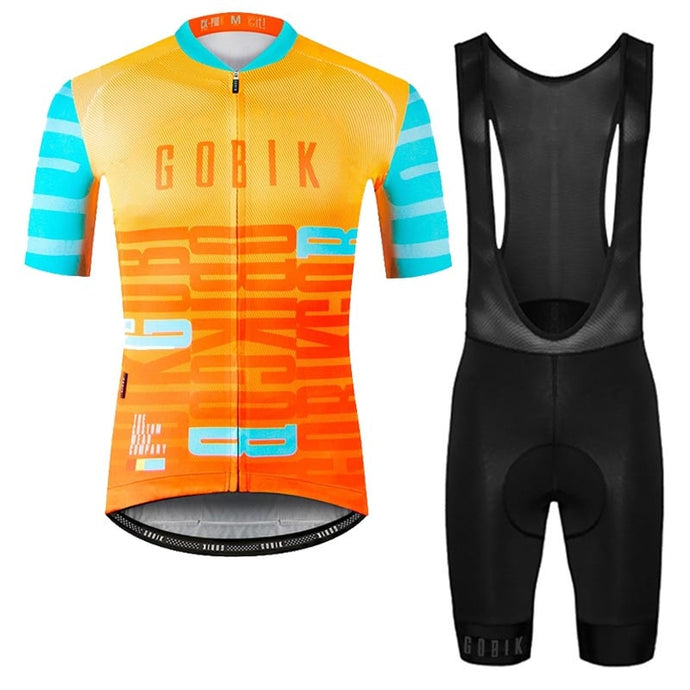 GOBIK spain Cycling Jersey summer short sleeve Breathable Racing Bicycle cycling clothing Ropa Ciclismo Hombre Bicicleta C31 - SuRegaloExpress