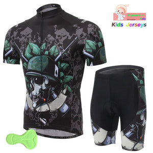Cycling Jersey Children 2019 Pro Team Boys Mtb Motocross Triathlon Cycling Jersey Suits Kids Bicycle Clothing Bike Cycling Kit - SuRegaloExpress