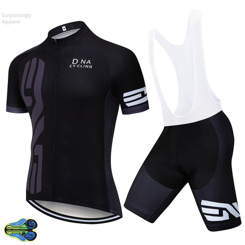 Men's Cycling Set 2019 Pro Racing Tour Team Black Cycling Set MTB Summer Short Sleeve Jersey Road Bike Riding Suit Ropa Ciclismo - SuRegaloExpress