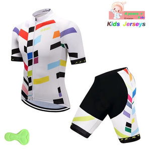 Boys Cycling Jersey Set Maillot Roupas Ciclismo Team Bike MTB Clothing Wear Bicycle Sports Kid Cycling Jersey Children's Gift - SuRegaloExpress