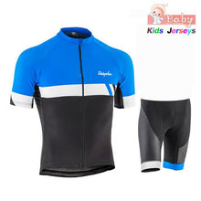 Cargar imagen en el visor de la galería, 2019 Pro Team Breathable Kids Cycling Jersey Set Shorts Children  Bike Clothing Boys Summer Bicycle Wear Mtb Ropa Ciclismo - SuRegaloExpress