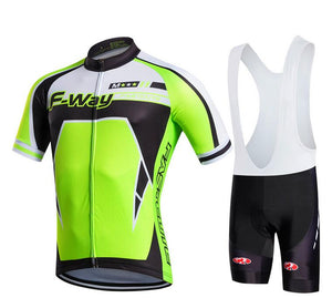 2017 Pro Team New Men's cycling jerseys sets/breathable bicycle clothes/bike clothing sport cycling jersey+3D Gel Pad for men - SuRegaloExpress