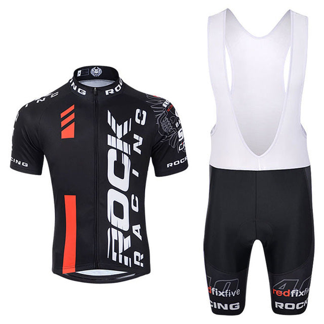 Pro Summer Rock racing Cycling Jersey Set Mountain Bike Clothing MTB Bicycle Clothes Wear Maillot Ropa Ciclismo Men Cycling Set
