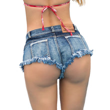 Cargar imagen en el visor de la galería, High Waist Women Shorts Denim Super Mini Sexy Shorts Jean Tassel Booty Shorts Cute Bikini Club Party Girls Bottom Shorts feminin - SuRegaloExpress