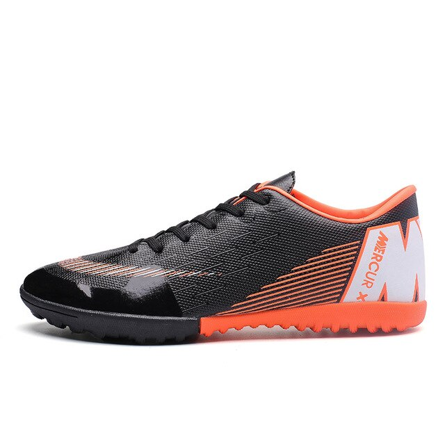 Unisex Colorful Indoor Futsal football shoes Sneakers TF Spikes Men Soccer Cleats Original Football with Sports shoes size 34-45
