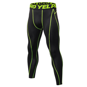 New Compression Pants Sports Running Tights Men Jogging Leggings Fitness Gym Clothing Sport Leggings Men Trousers