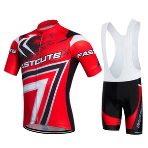 FASTCUTE Herbt Pro Rock Bicycle Clothing Maillot Cycling Clothing Cycling bicycle MTB bike uniform Cycling shirt racing shirts - SuRegaloExpress