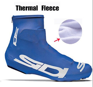Winter Fleece Thermal Bicycle Cycling Overshoes Shoes