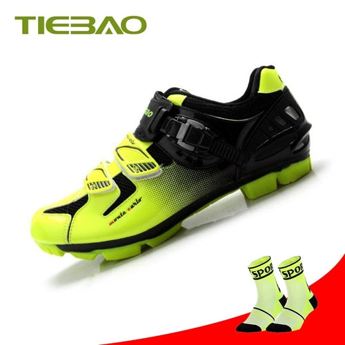 Tiebao sapatilha ciclismo mtb Cycling Shoes men superstar