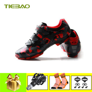Tiebao Professional MTB Cycling Shoes Outdoor Athletic