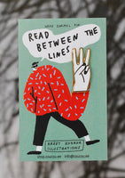 read between the lines pin