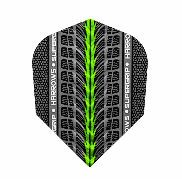 Harrows Darts Super Grip Standard Green | Harrows Darts | AS Pub Sports