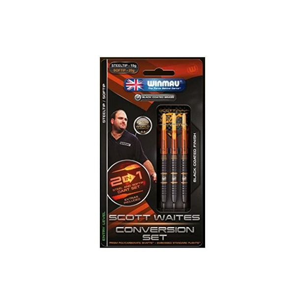 19g - Winmau Darts Scott Waites Conversion