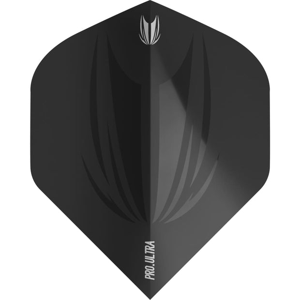 ID Pro.Ultra Black No2 Flights Target Darts 2019