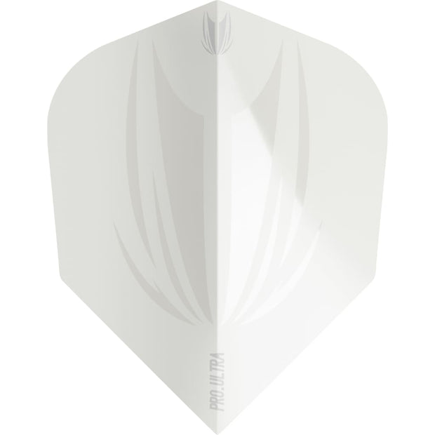 ID Pro.Ultra White No.6 Standard Flights Target Darts 2019