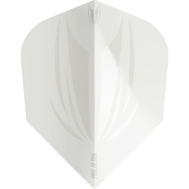 ID Pro.Ultra White Ten-X Flights Target Darts 2019