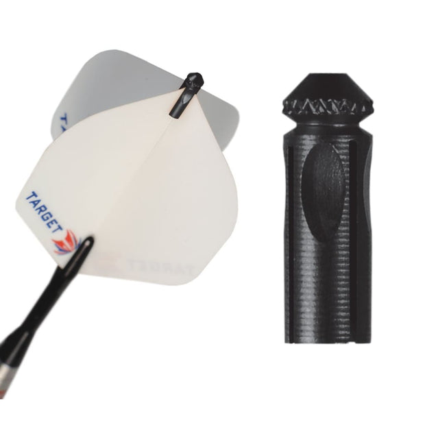 Target Darts Flight Protector Black | Target Darts | AS Pub Sports
