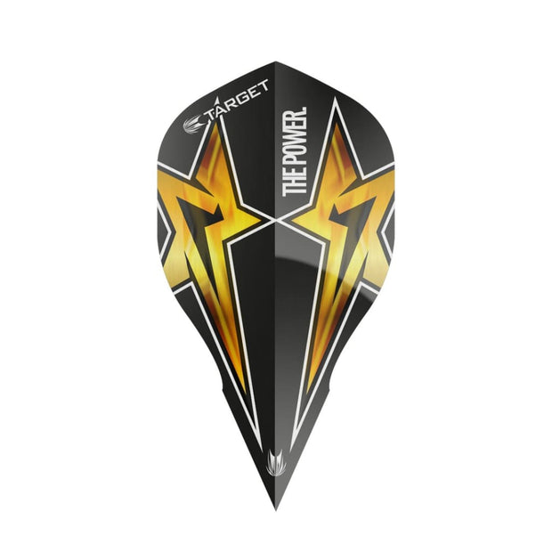 Target Power Star Flight Black and Yellow Power Edge