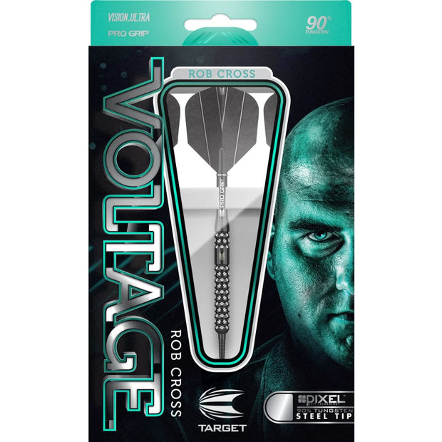 Rob Cross Black Pixel Steel Tip Target Darts 21g 23g and 25g