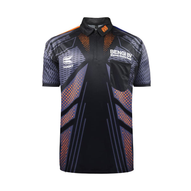 Target Darts RVB Barney 2017 Cool Play Shirt - Large