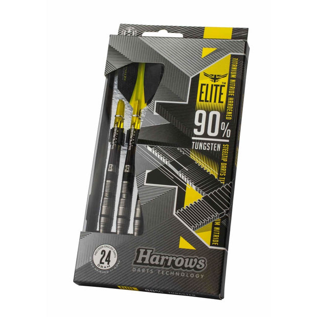 25g Elite Steel Tip Harrows Darts