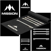 Darts Mat Heavy Duty Rubber Professional Mission Darts Mat