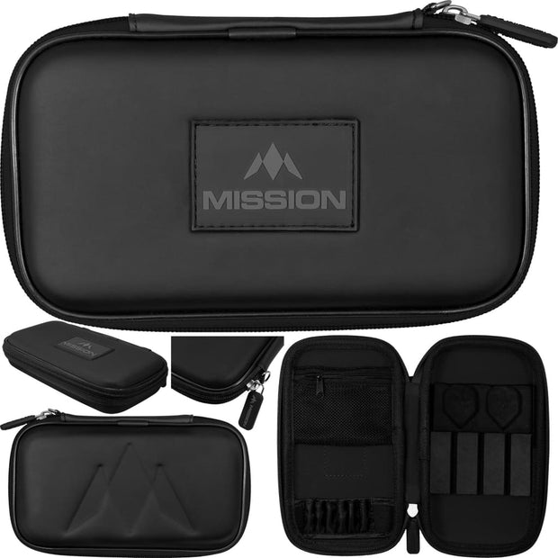 Freedom XL Case Mission Darts available in 5 colour - Black/Black