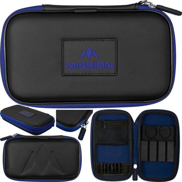 Freedom XL Case Mission Darts available in 5 colour - Black/Blue