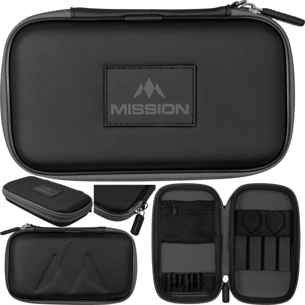 Freedom XL Case Mission Darts available in 5 colour - Black/Grey