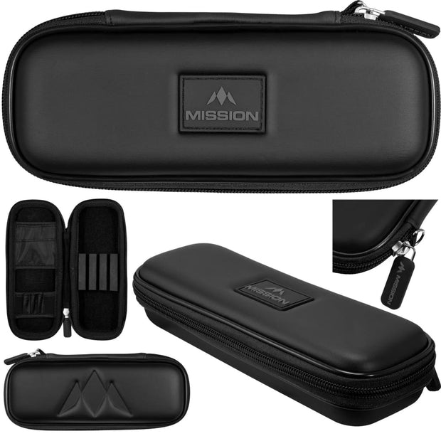 Freedom Slim Case Mission Darts available in 5 colour - Black/Black