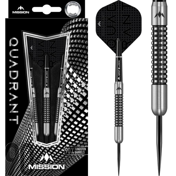Quadrant Darts M1 Mission Darts 22g and 24g